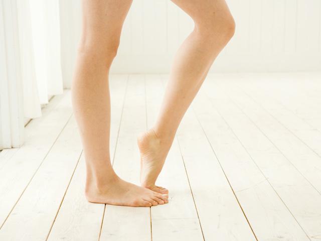 足を細くする方法