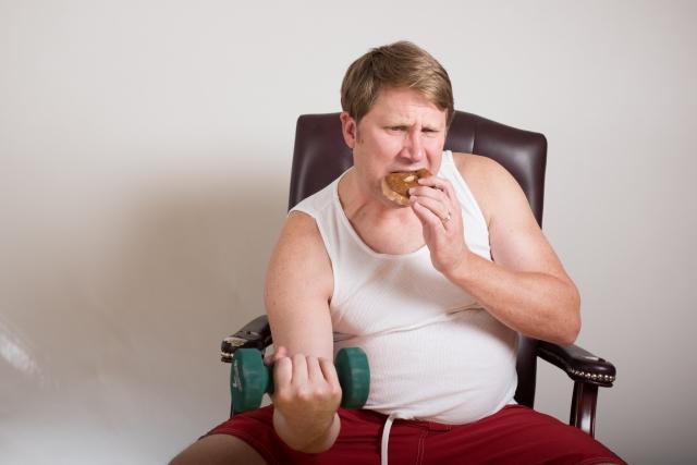人が太る原因とは「食べ過ぎ」